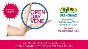 14 Febbraio 2018 – Ripetiamo l'Open Day Vene a Mondragone (CE)